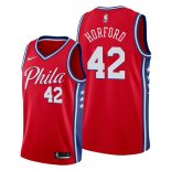 Camiseta Philadelphia 76ers Al Horford NO 42 Statement Edition Rojo