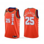 Camiseta 2020 Rising Star P. J. Washington NO 25 USA Rojo