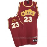 Camiseta Cleveland Cavaliers LeBron James NO 23 Retro 2008 Rojo