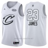 Camiseta All Star 2018 Cleveland Cavaliers Lebron James NO 23 Blanco