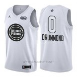Camiseta All Star 2018 Detroit Pistons Andre Drummond NO 0 Blanco