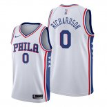 Camiseta Philadelphia 76ers Josh Richardson NO 0 Association Blanco
