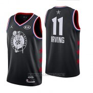 Camiseta All Star 2019 Boston Celtics Kyrie Irving NO 11 Negro