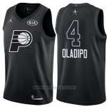 Camiseta All Star 2018 Indiana Pacers Victor Oladipo NO 4 Negro