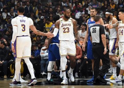 Lakers 112-103 Clippers - Camisetas nba baratas 2020