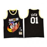 Camiseta Houston Rockets x Cactus Jack NO 01 Negro