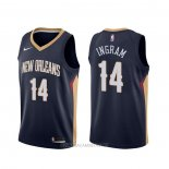 Camiseta New Orleans Pelicans Brandon Ingram NO 14 Icon Azul