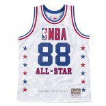 Camiseta All Star 1988 AAPE x Mitchell & Ness NO 88 Blanco