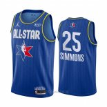 Camiseta All Star 2020 Philadelphia 76ers Ben Simmons NO 25 Azul
