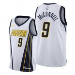 Camiseta Indiana Pacers T.j. Mcconnell NO 9 Earned 2019-20 Blanco