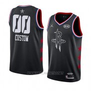 Camiseta All Star 2019 Houston Rockets Personalizada Negro