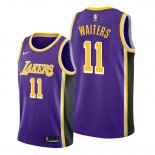 Camiseta Los Angeles Lakers Dion Waiters NO 11 Statement 2020 Violeta