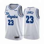 Camiseta Los Angeles Lakers Lebron James Classic 2019-20 Blanco