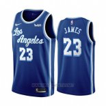 Camiseta Los Angeles Lakers Lebron James Classic 2019-20 Azul
