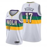 Camiseta New Orleans Pelicans J.j. Redick NO 17 Association Blanco