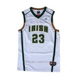 Camiseta St. Vincent-St. Mary LeBron James NO 23 Blanco