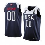 Camiseta USA Personalizada 2019 FIBA Basketball World Cup Azul