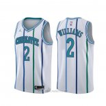 Camiseta Charlotte Hornets Marvin Williams NO 2 Classic Blanco