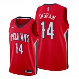 Camiseta New Orleans Pelicans Brandon Ingram NO 14 Statement Rojo
