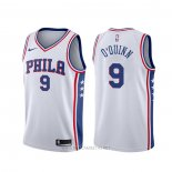 Camiseta Philadelphia 76ers Kyle O'quinn NO 9 Association Blanco