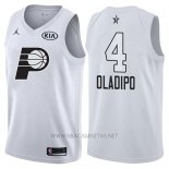 Camiseta All Star 2018 Indiana Pacers Victor Oladipo NO 4 Blanco