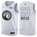 Camiseta All Star 2018 Minnesota Timberwolves Jimmy Butler NO 23 Blanco
