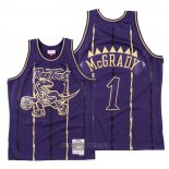 Camiseta Toronto Raptors Tracy McGrady NO 1 2020 Chinese New Year Throwback Violeta