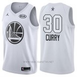 Camiseta All Star 2018 Golden State Warriors Stephen Curry NO 30 Blanco