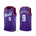 Camiseta 2020 Rising Star Rj Barrett NO 9 World Violeta