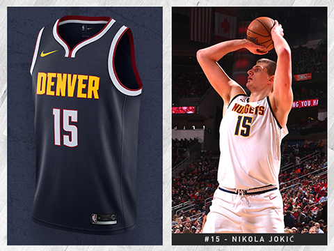 Camisetas nba Denver Nuggets baratas
