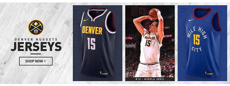 Camisetas nba Denver Nuggets baratas