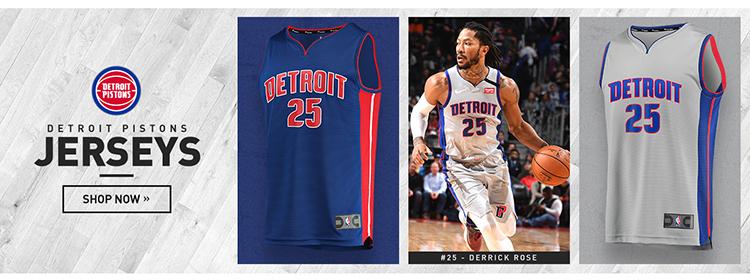 Camisetas nba Detroit Pistons baratas